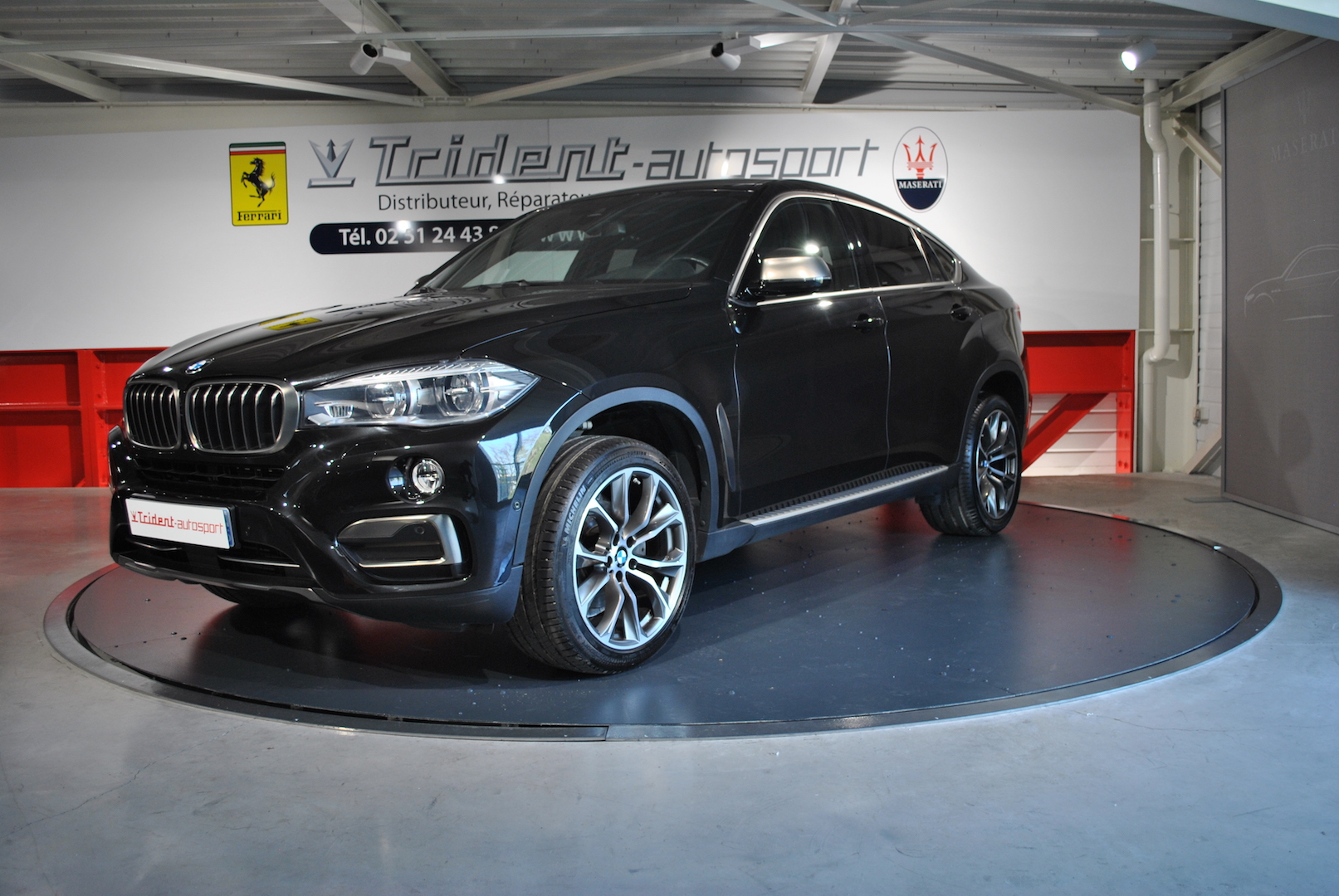 2016 bmw x6 xdrive30d 258 exclusive bva8 d 39 occasion groupe trident. Black Bedroom Furniture Sets. Home Design Ideas